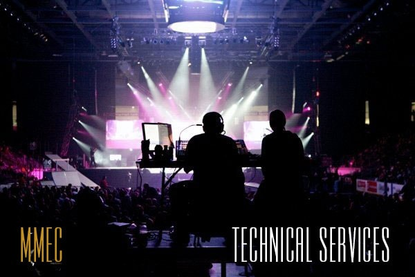 MMEC Technical Services for the Casino, Cruise, and Event Industries.