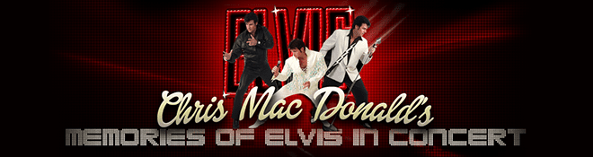 Mike Moloney Entertainment Books Elvis Impersonator Chris Mac Donald