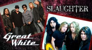 MMEC Books Great White and Slaughter at Snoqualmie Casino